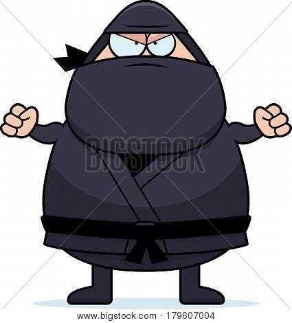 Angry Cartoon Ninja