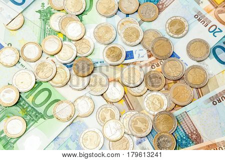 Euro Money. euro cash background. Euro Money Banknotes