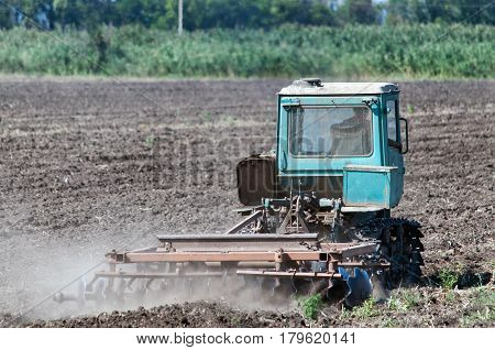 Tractor Rostov-on-Don Russia August 23 2015