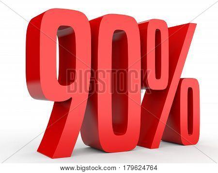 Ninety Percent Off. Discount 90 %.