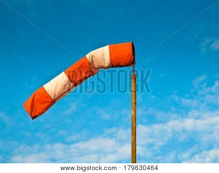 Wind Sock Blue Sky