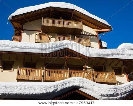 Hotel Under Snow