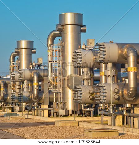 Natural Gas Processing Site