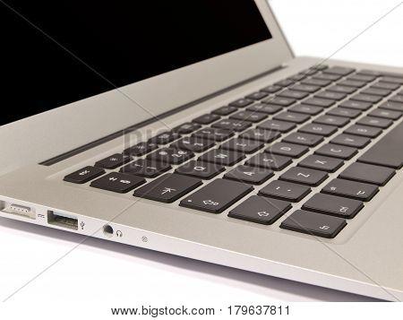 Laptop Keyboard On White Background