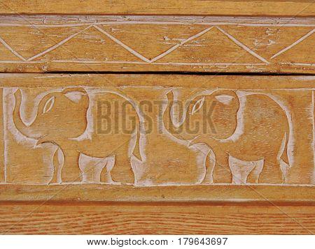 elephants is a symbol of peace and harmony.