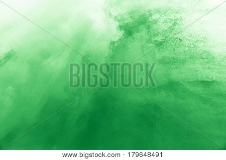 Abstract background greenery predominant color at famous salt flats at Gruissan Languedoc-Roussillon France. very well known for producing sea salt from marshes on coastline.