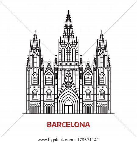 Travel Barcelona Vector & Photo (Free Trial) | Bigstock