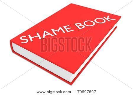 Shame Book Concept