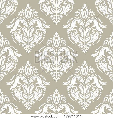Classic seamless vector pattern. Traditional orient ornament. Classic vintage background