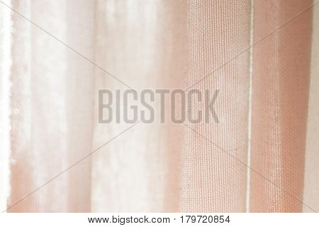 Curtains. Translucent fabric useful as a background.