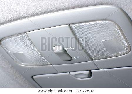 illuminating inside a car