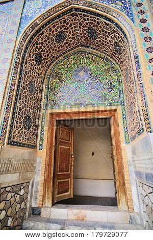 Registan Square Shah-i-Zinda - UNESCO World Heritage Samarkand Uzbekistan