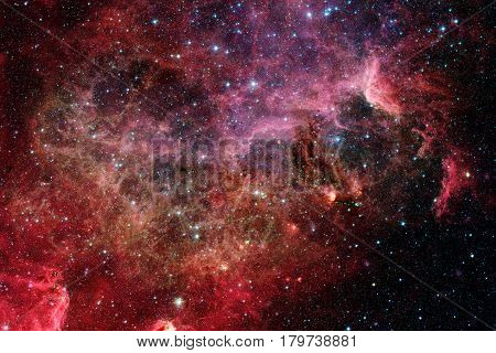 Nebula in deep space. Elements of this image furnished by NASA.