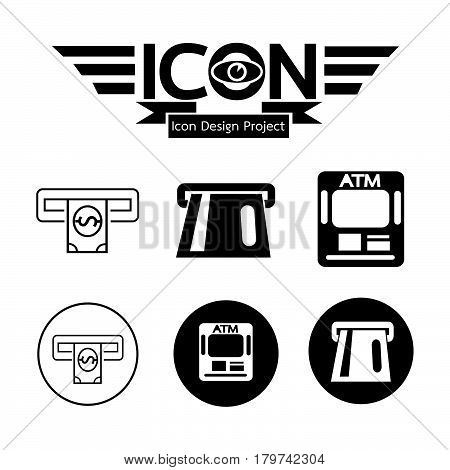 an images of Or pictogram Atm Icon