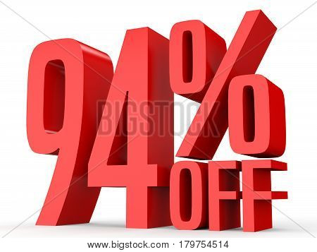Ninety Four Percent Off. Discount 94 %.