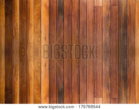 Brown wood wall texture and background for pattern