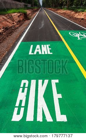 Dedicated bicycle lanes designed to make cycling safer.