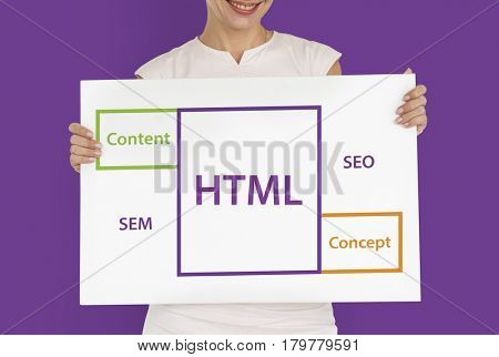 Html SEO Content Word Boxes