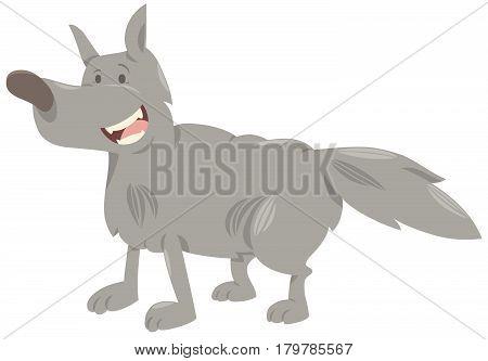 Wolf Cartoon Animal Character