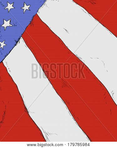 Background Of The American Flag