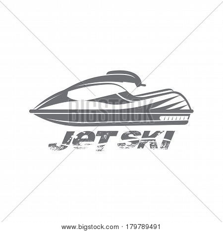 Illustration Of Jet Ski