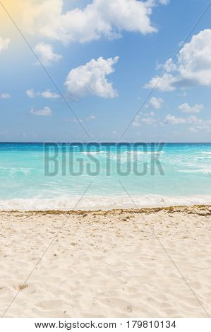 Caribbean sea summer, vacations time for fun