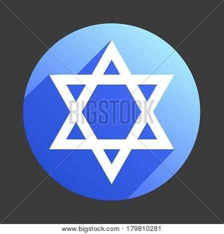 david star icon flat web sign symbol logo label set