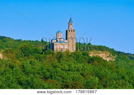 Patriarchal Cathedral of the Holy Ascension of God Stronghold Tsarevets in Veliko Tarnovo Bulgaria