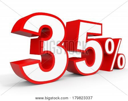 Thirty Five Percent Off. Discount 35 %.