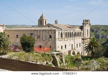 St. Agostino Church. Matera. Basilicata.
