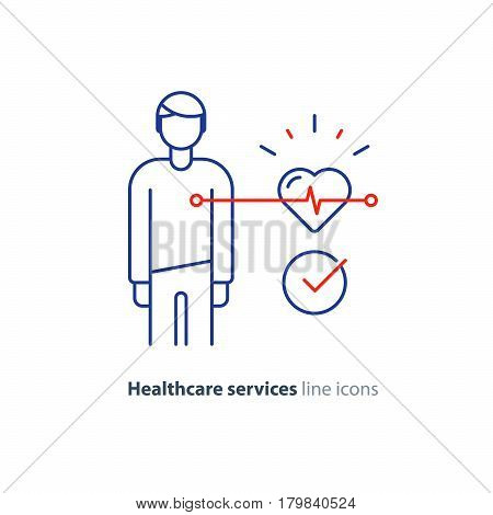 Cardiovascular vector photo free trial bigstock cardiovascular disease prevention test heart diagnostic electrocardiography logo medical monitor screen undergo ccuart Choice Image