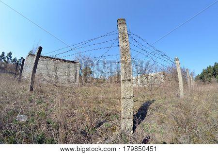 Abandoned military base in near Kiev