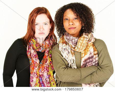 Two Confident Female Friends