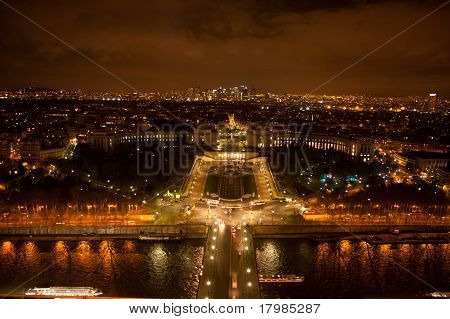 Trocadero at Night