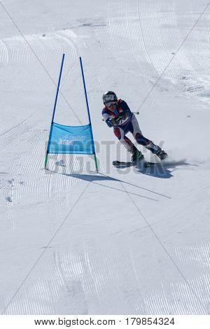 Mario Carvalho During The Ski National Championships