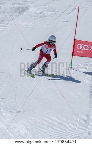 Carla Couto During The Ski National Championships