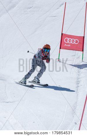 Joao Silva During The Ski National Championships