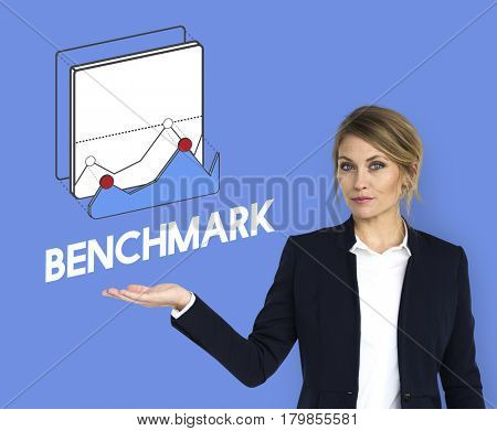 Business Woman Studio Portrait Benchmark