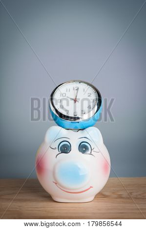 Time Savings Time is Money. Time management concept