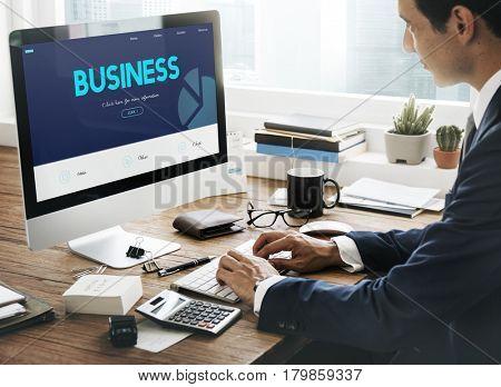 Business Company Corporation Success Concept