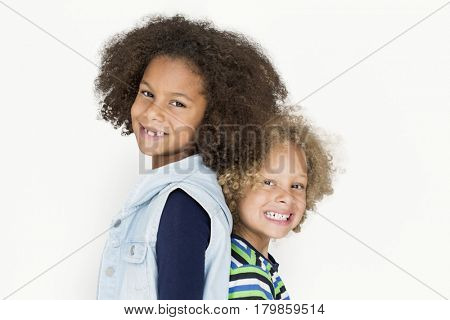 Diverse Kids Having Fun Portrait