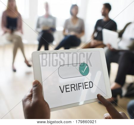 Verified authority approve allow business