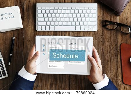 Schedule agenda appointment business connect