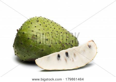Soursop Prickly Custard Apple. Annona muricata L. Treatment of cancer