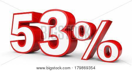 Fifty Three Percent Off. Discount 53 %.