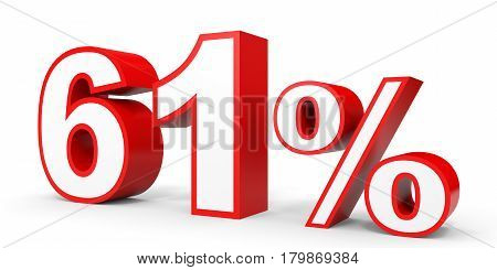Sixty One Percent Off. Discount 61 %.