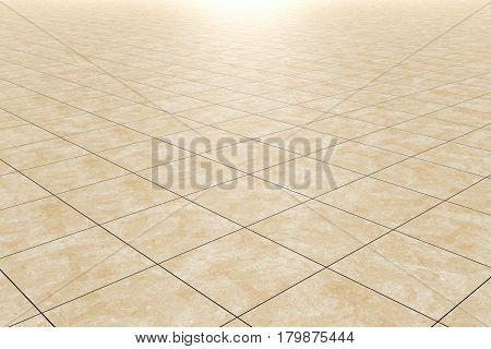 Close-up Of Ceramic Geometric Floor