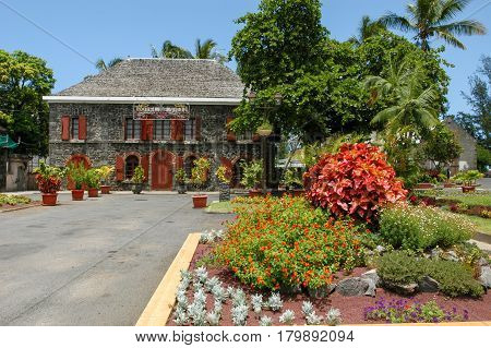 Town Hall Of Saint Leu On La Reunion Island