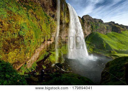 Seljalandsfoss One Of The Most Famous Icelandic Waterfall