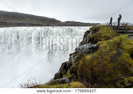 Dettifoss - the most powerfull waterfall of Iceland